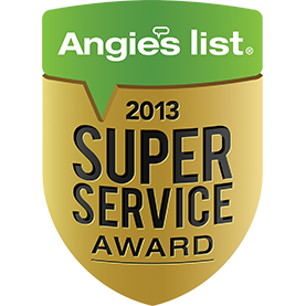 Super Service Award Winner - 2013